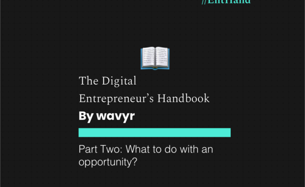 The Digital Entrepreneur's Handbook Part Two: What to do with an opportunity?